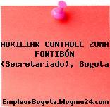 AUXILIAR CONTABLE ZONA FONTIBÓN (Secretariado), Bogota