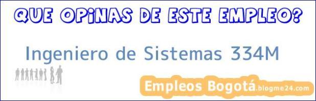 Ingeniero de Sistemas 334M
