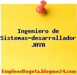 Ingeniero De Sistemas-Desarrollador Java