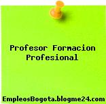 Profesor Formacion Profesional