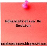 Administrativa De Gestion