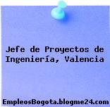 Jefe de Proyectos de Ingeniería, Valencia