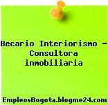 Becario Interiorismo – Consultora inmobiliaria