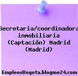 Secretaria/coordinadora inmobiliaria (Captación) Madrid (Madrid)