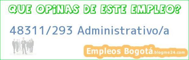 48311/293 Administrativo/a