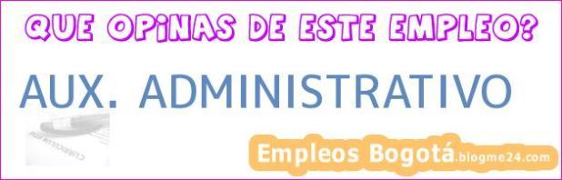 Aux. Administrativo