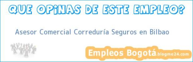 Asesor Comercial Correduría Seguros en Bilbao