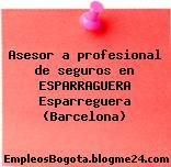Asesor a profesional de seguros en ESPARRAGUERA Esparreguera (Barcelona)