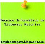Técnico Informático de Sistemas, Asturias