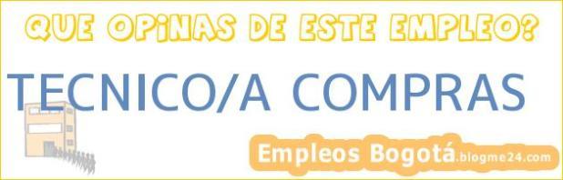TECNICO/A COMPRAS