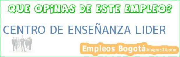 CENTRO DE ENSEÑANZA LIDER