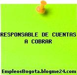 RESPONSABLE DE CUENTAS A COBRAR