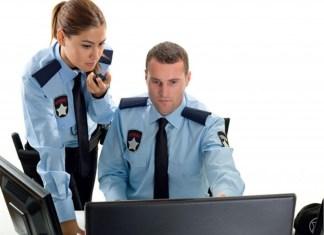 personal de vigilancia monitoreo de camaras watchman security guard vigilante de seguridad