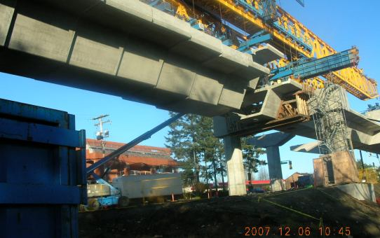 Canada Line Rapid Transit - Elevated Guideway