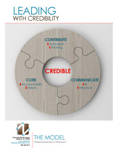 Leading with Credibility Course