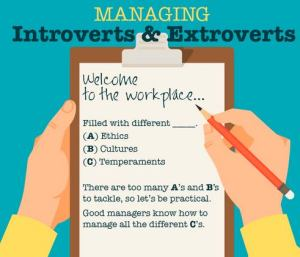Managing Introverts & Extroverts In The Workplace