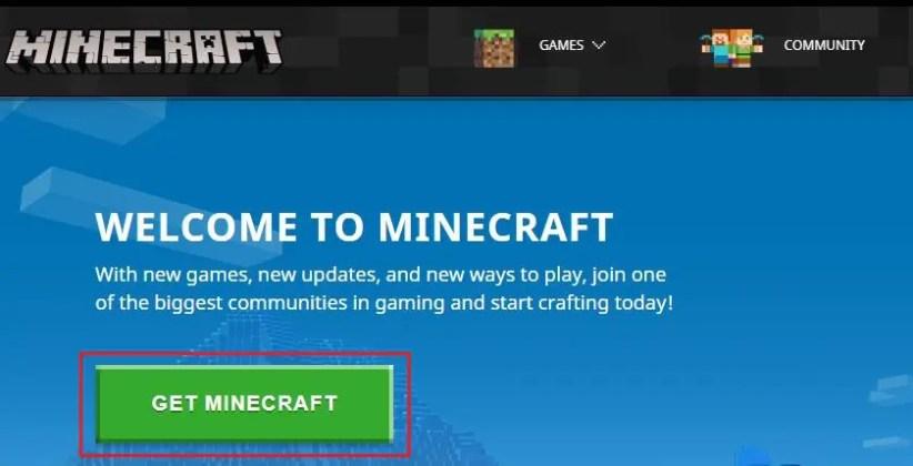 Minecraft game download