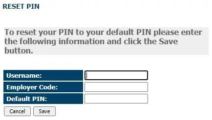 USPayserv.com Forgot Pin