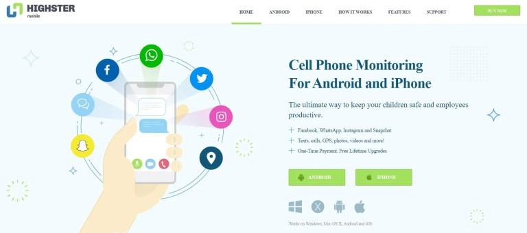 Highster mobile login