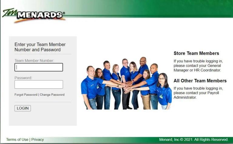 TM Menards employee login