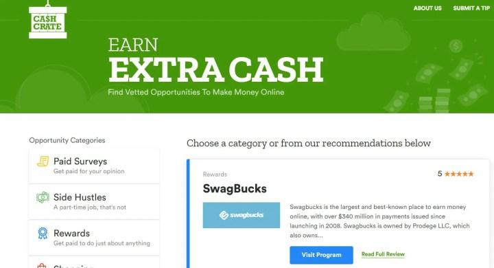 Cashcrate login