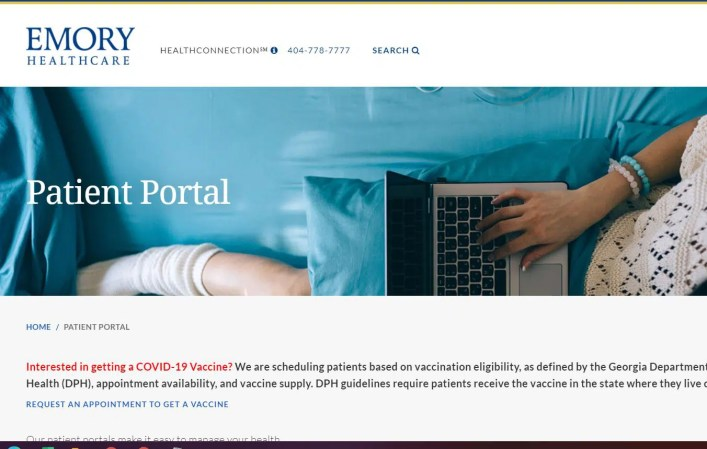 Emory Patient Portal