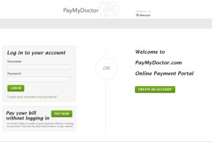 PayMyDoctor online bill payment portal