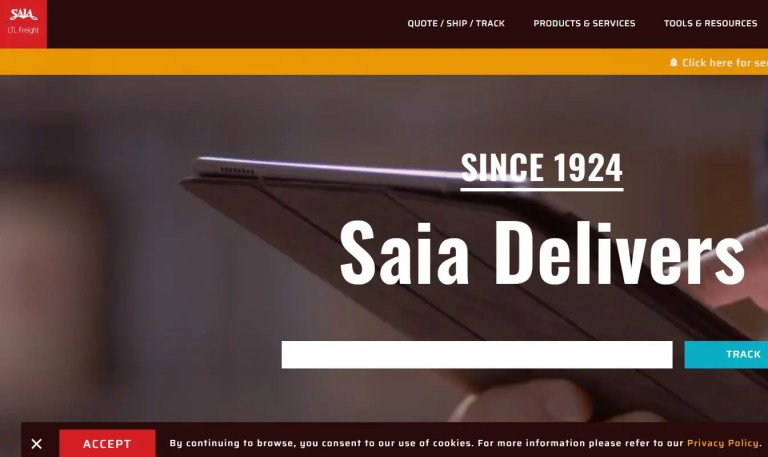 Saia LTL Freight Shipping & Logistics company