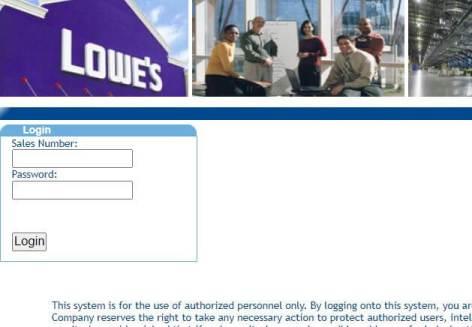 MyLoweslife Employee Portal