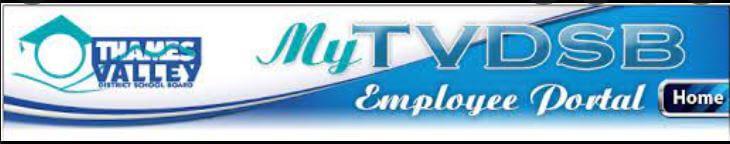 TVDSB Employee Portal Login