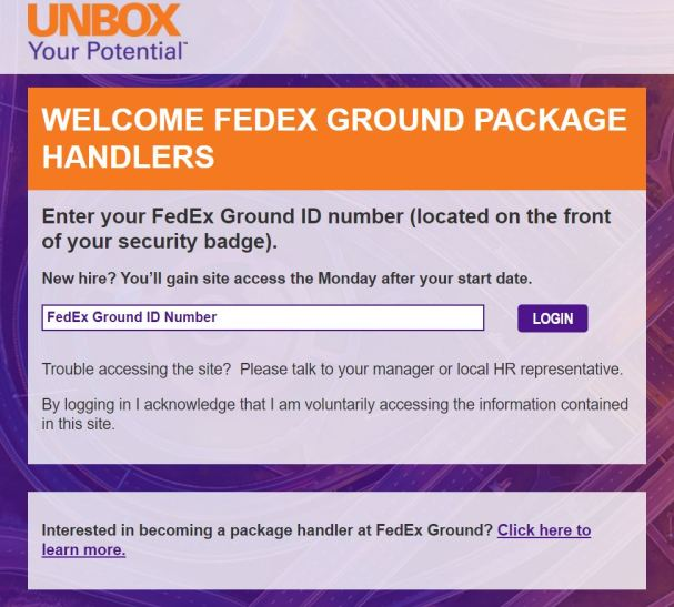 FedEx Employee Login Portal