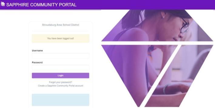 Stroudsburg Parent Portal Login