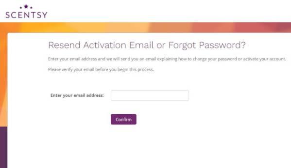 www.scentsypay.com Portal Login password reset