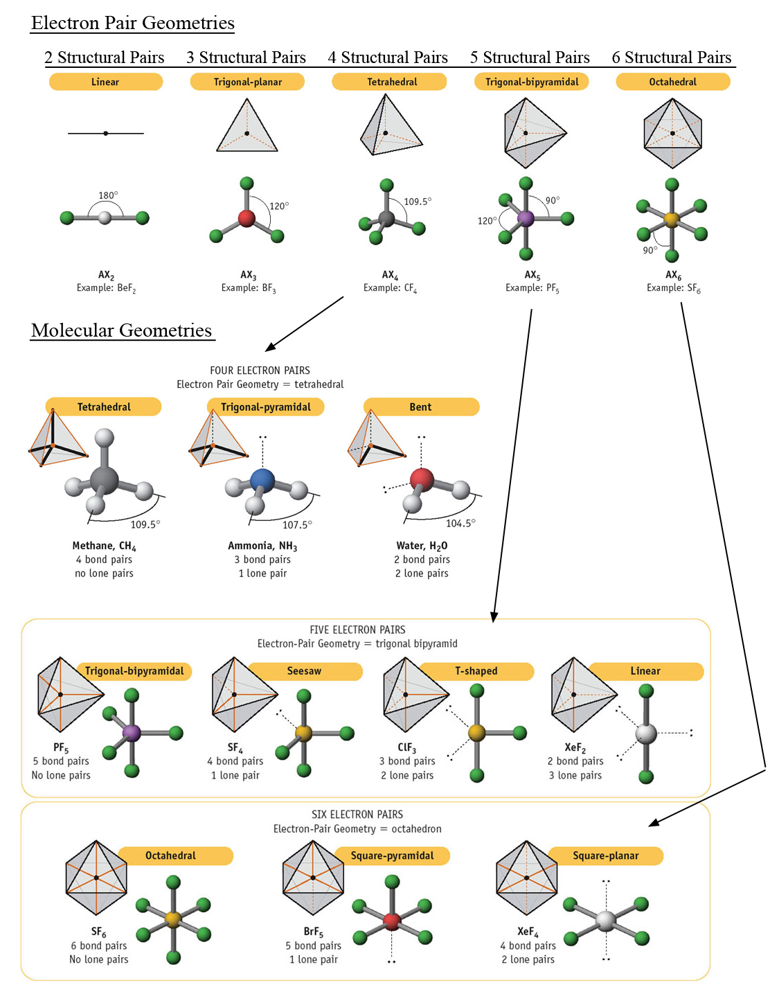 Molecular Geometry Models Pictures To Pin