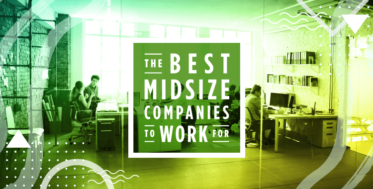 best midsize companies to work for