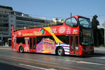 Hop-On Hop-Off Tour Bus
