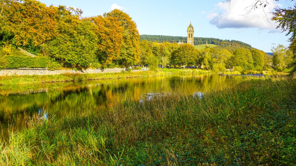 River Tweed and Peebles