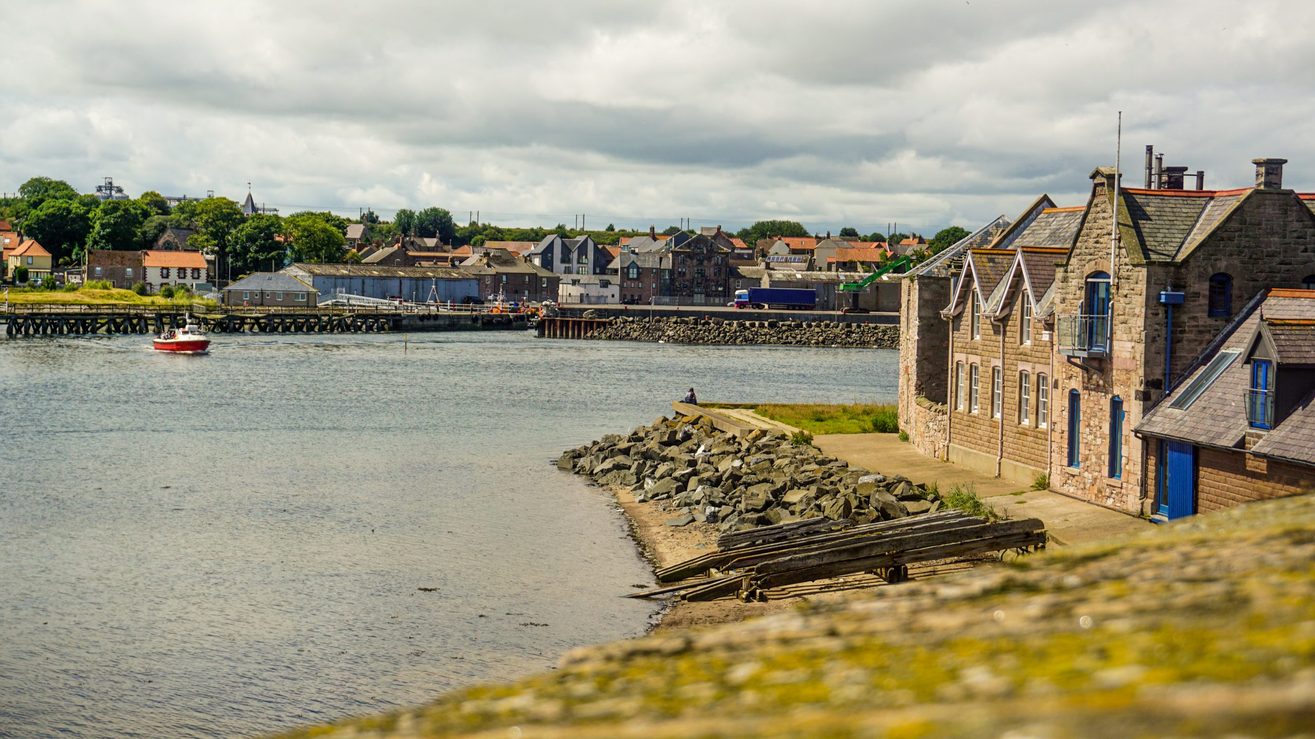 View from Berwick-upon-Tweed Walls