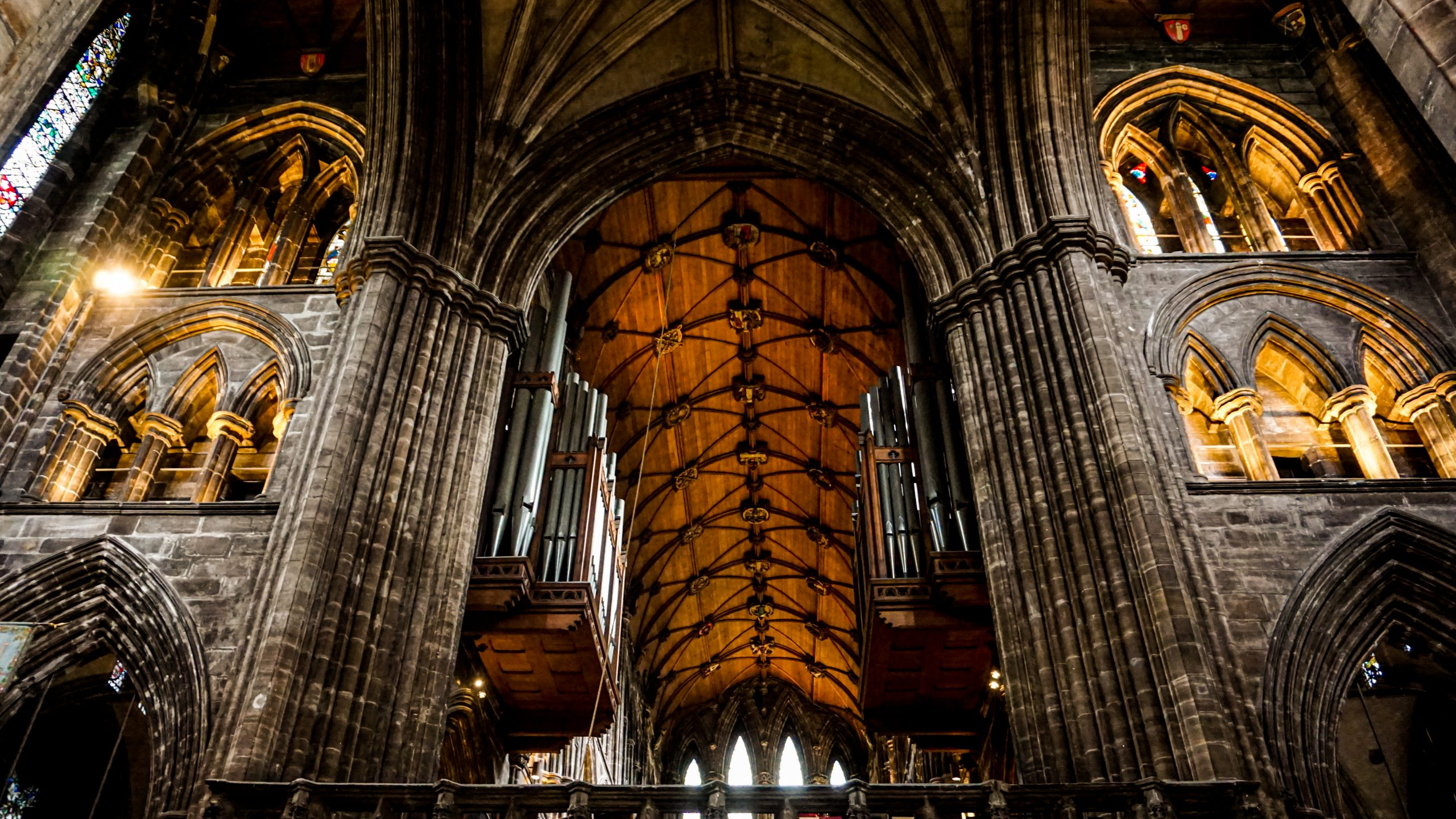 Interior of Glasgow Cathedral