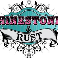 Ribbon Cutting for Rhinestones & Rust