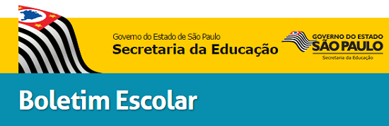 BOLETIM ESCOLAR SP
