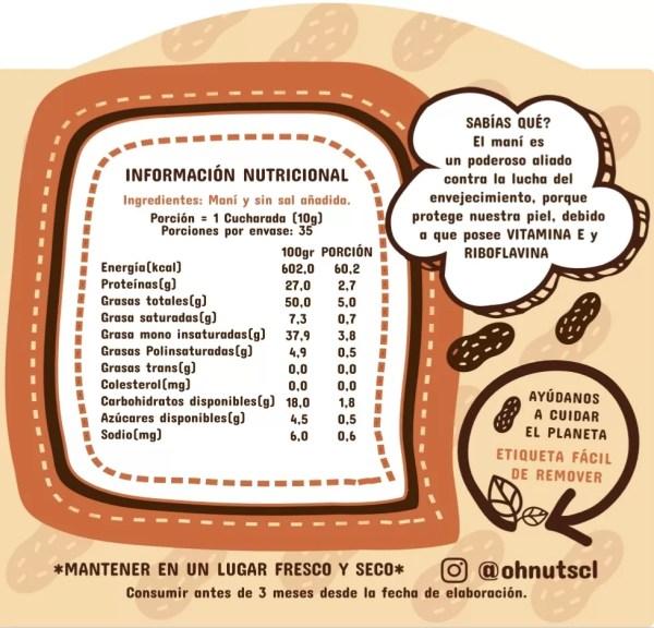 Mantequilla de Maní - Tienda Gourmet Emporio LaMarta
