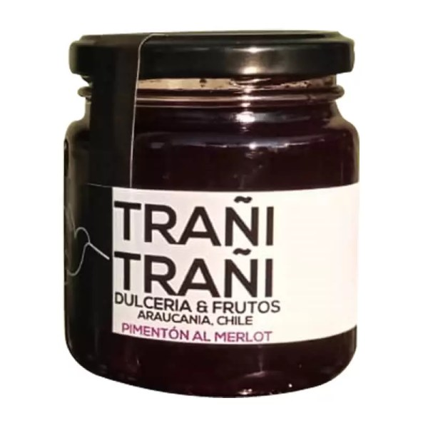 Mermelada-PimentonAlMerlot-Trani-Trani-250grs