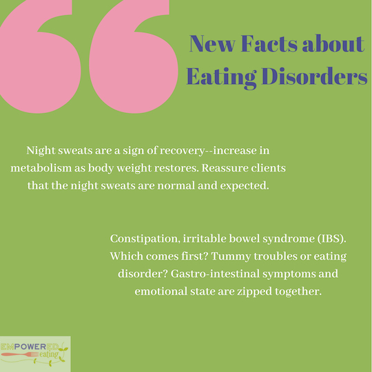 Top Ten Gold Nuggets from Jennifer Gaudiani's Talk for Eating Disorder Professionals at the International Association of Eating Disorder Professionals (IAEDP) Conference