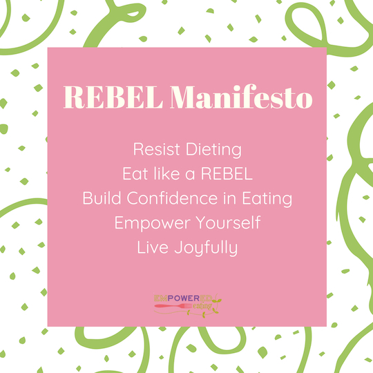 Treating Emotional Eating with REBEL Approach