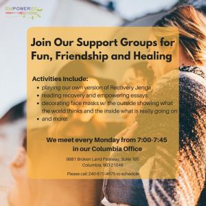 Support Group - Mondays @ Columbia Office | Columbia | Maryland | United States