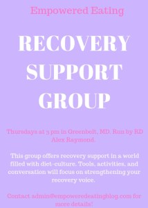 Support Group- In Person
