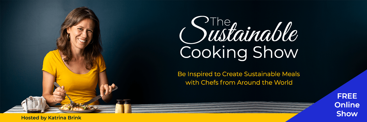 The Sustainable Cooking Show Banner Version 3