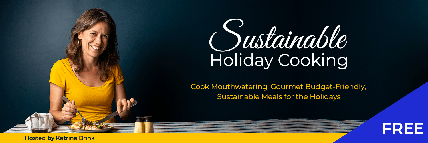 Sustainable HOliday Cooking Banner