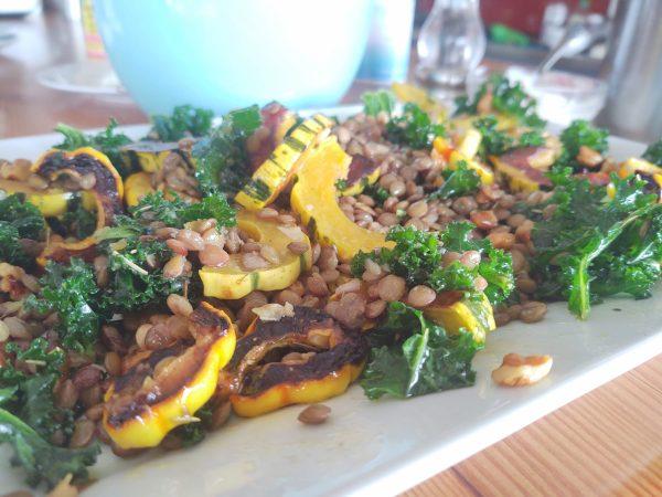 Delicata & Lentil Salad